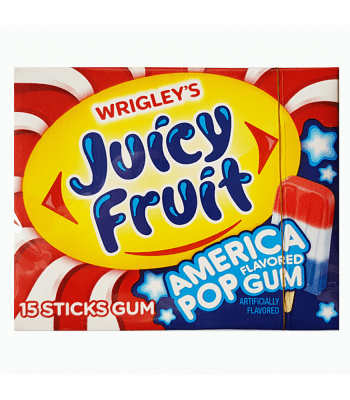 Juicy Fruit America Pop Flavoured Gum From Auntie Ammies Candy Shop