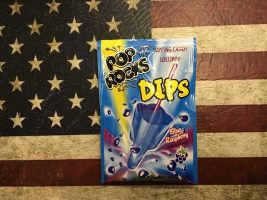Pop Rocks Blue Raspberry popping Candy with lollipop From Auntie Ammies Candy Shop