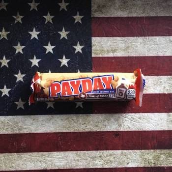 Payday Flavour of America Texas BBQ From Auntie Ammies Candy Shop