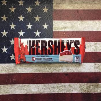 Hershey's Cherry Cheescake Chocolate Bar 42g From Auntie Ammies Candy Shop