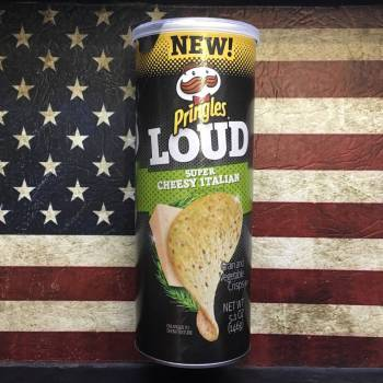 Pringles Loud Super Cheesy Italian (146g) From Auntie Ammies Candy Shop