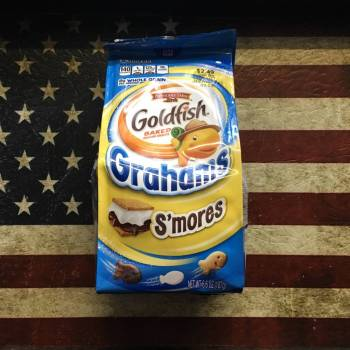 Goldfish Grahams - S'mores (187g) From Auntie ammies candy Shop
