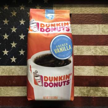 Dunkin Donuts French Vanilla Ground Coffee (340g) From Auntie Ammies Candy Shop