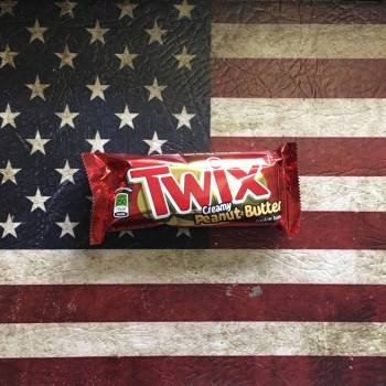 Twix Creamy Peanut Butter twix from auntie Ammies Candy Store