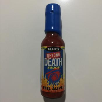 Blair's Beyond Death Hot Sauce American food uk