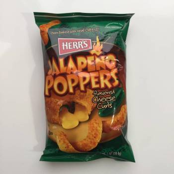 Herrs Jalapeno Poppers 29g American snacks UK