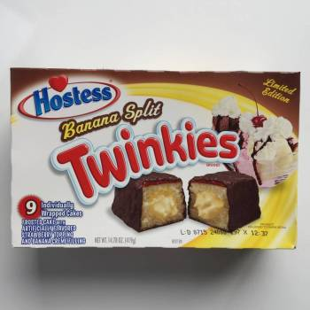 Chocolate Banana Split Twinkees from Auntie Ammie's Candy Shop.