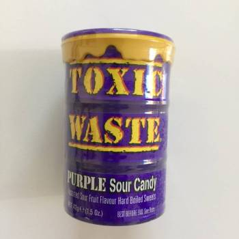 Toxic Waste Purple Drum American sweets Auntie Ammie's Candy Shop