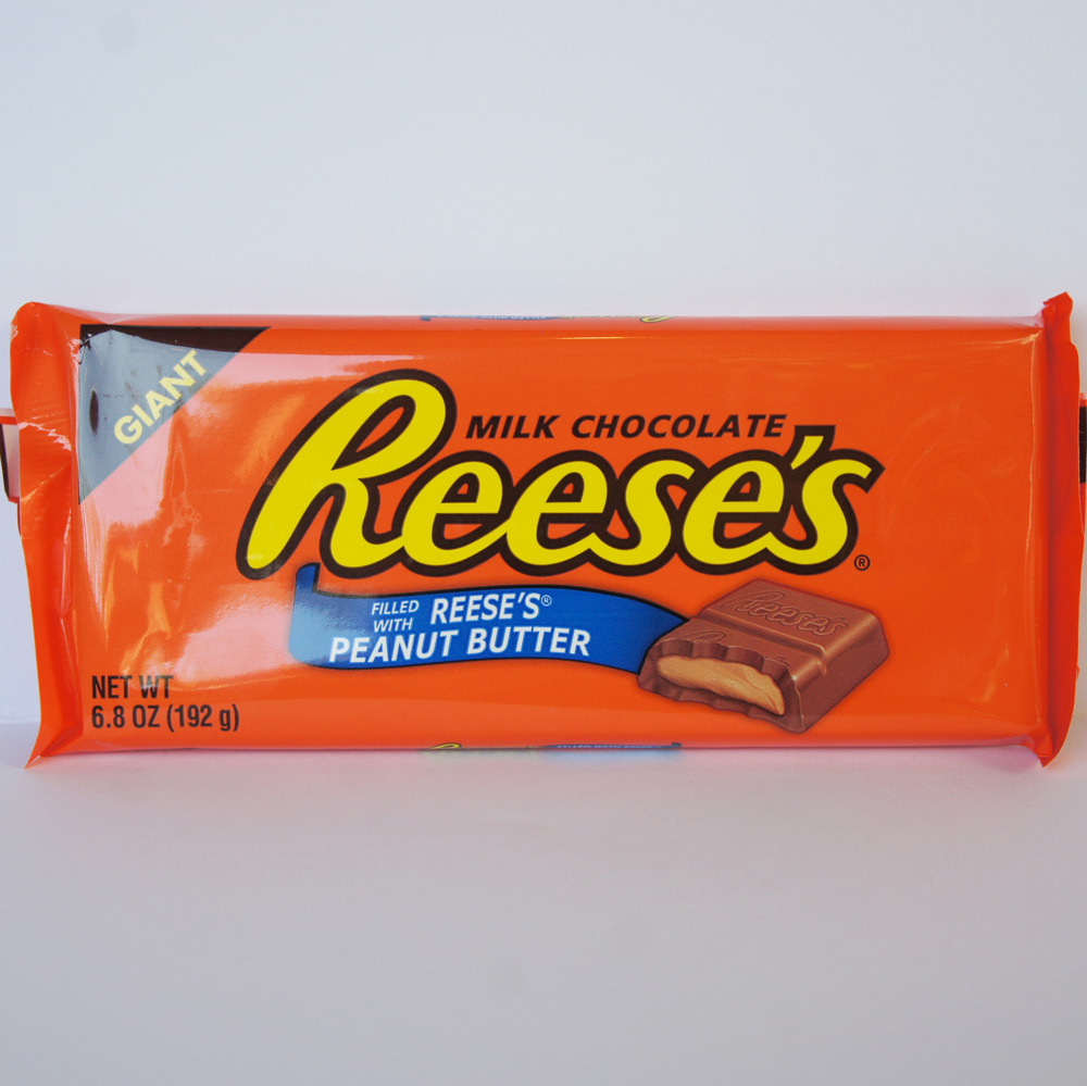 Reeses Giant Milk Chocolate Bar Giant Peanut Butter Chocolate