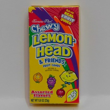 Lemonhead Chewy from Auntie Ammie's American Candy Shop UK