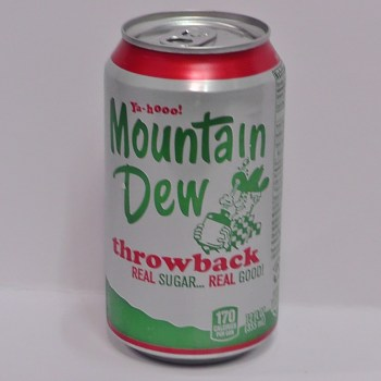 Mountain Dew Throwback American soda from Auntie Ammie's American Candy Shop UK