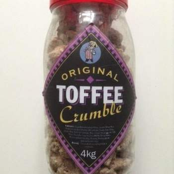 The Original Toffee Crumble American sweets from Auntie Ammie's American Candy store UK
