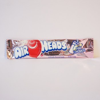 pink lemonade airhead chew bar American sweets from Auntie Ammie's Candy Shop