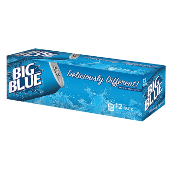 Big Blue 355ml Fridgepack from Auntie Ammies American Candy shop