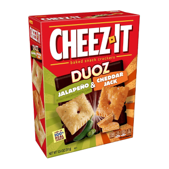Cheez It Duoz Jalapeno & Cheddar Jack - 12.4oz (351g) from Auntie Ammies American Candy Shop
