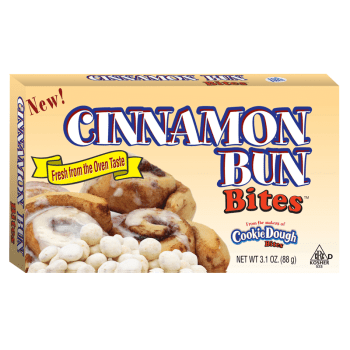 Cinnamon Bun Bites 3.1oz (88g) from auntie ammies American candy shop