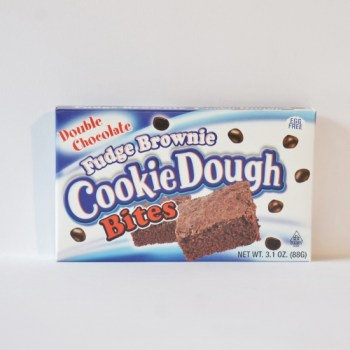cookie dough fudge brownie from Auntie Ammie's American Candy Shop UK