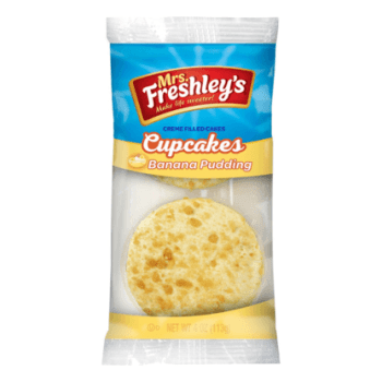 Mrs Freshleys Banana Pudding Cupcakes Twin Pack - 4oz (113g)