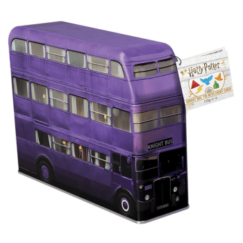 Harry Potter - Knight Bus Money Tin w/ Chewy Candy (112g)