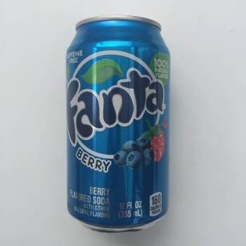 Fanta Berry Blue American soda