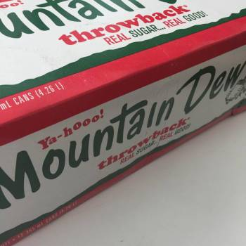 Mountain Dew Throwback FridgePack American foods UK