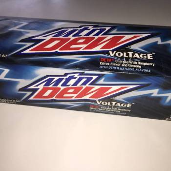 Mountain Dew Voltage American soda from Auntie Ammie's American Candy Shop UK