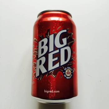Big Red American Soda from Auntie Ammie's American Candy Shop