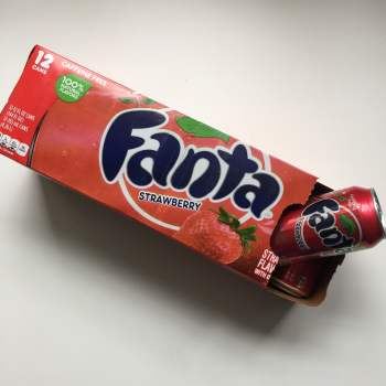 Fanta Strawberry fridgepack American soda UK from Auntie Ammie's Candy Shop