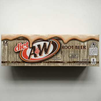 A&W Diet Root Beer Fridgepack American soda UK