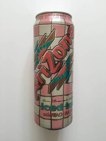 Arizona Iced Tea with Peach from Auntie Ammie's American Candy Shop UK