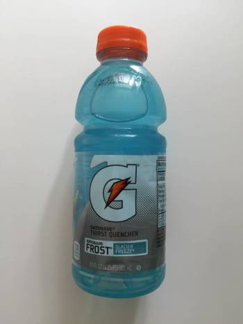 Gatorade glacier frost from Auntie Ammie's American Candy Shop UK