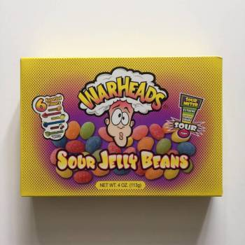 Warheads Sour Jelly Beans from Auntie Ammie's American Candy Shop UK