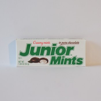 junior mints American sweets from Auntie Ammie's Candy Shop