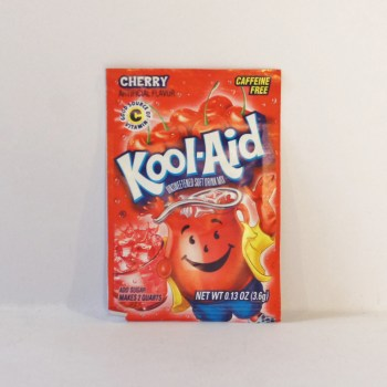 cherry kool aid sachet American food from Auntie Ammie's Candy Shop UK