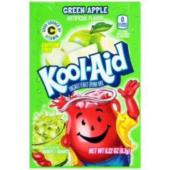 Kool Aid Unsweetened Green Apple 4.5g