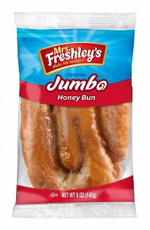 Mrs Freshley's Jumbo Honey bun (170g) from Auntie Ammies American candy Shop