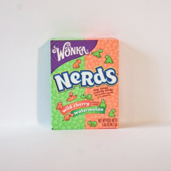 Wonka Nerds Watermelon & Wild Cherry from nestle American sweets from Auntie Ammie's Candy Shop UK
