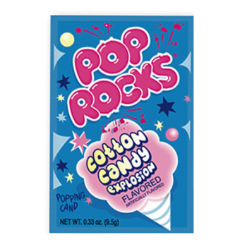 Pop rocks Cotton Candy 9g