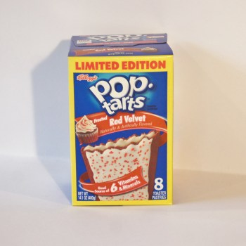 red velvet pop tarts American food from Auntie Ammie's Candy Shop UK