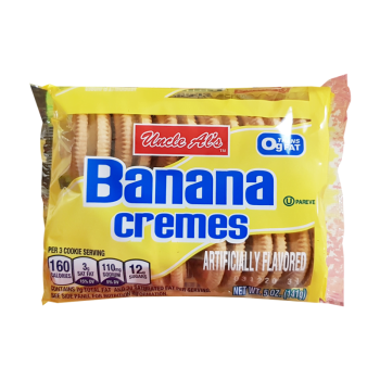 Uncle Als Banana Cremes 141g from Auntie ammies American Candy Shop