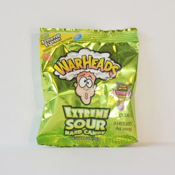 Warheads Extreme Sour Hard Candy American sweets from Auntie Ammie's Candy Shop