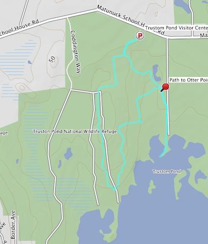 trustom pond track