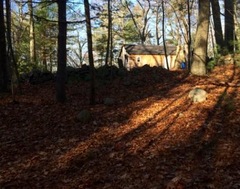 boy scout cabin
