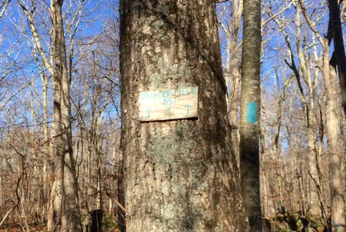boulder field sign