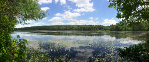 Breakheart Pond Panorama (click to embiggen)