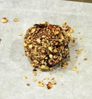 chocolate almond truffle