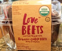 package of Love Beets