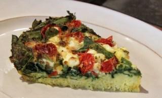 tomato and spinach quiche