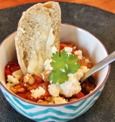 roasted vegetable chili