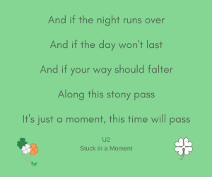 u2 stuck in a moment